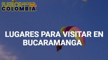 Lugares para visitar en Bucaramanga