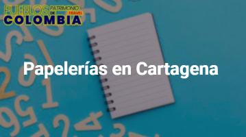 Papelerías en Cartagena
