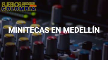 Minitecas en Medellín