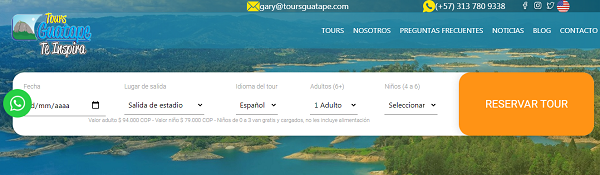 Tours por Guatapé