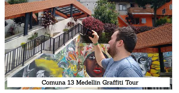 Tour de Grafitis por la Comuna 13