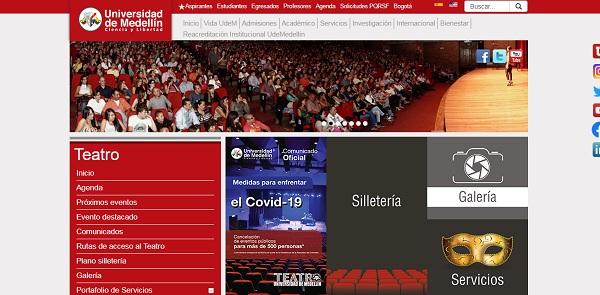 Teatro de la Universidad de Medellín