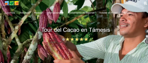 Tour del Cacao desde Medellín