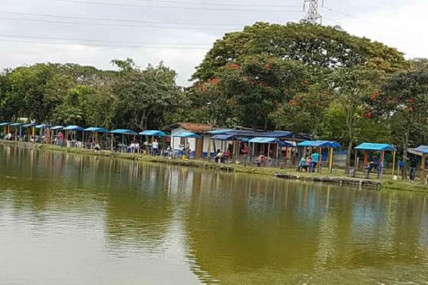 lagos de pesca en cali