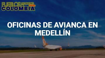 Oficinas de Avianca en Medellín