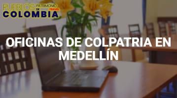 Oficinas de Colpatria en Medellín